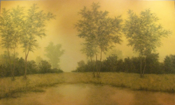 The Promise of Light, X  oil on canvas 72 x 120 inches  2007 © Gabrielle Senza
