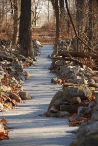 Stone River (detail) by Jon Piasecki